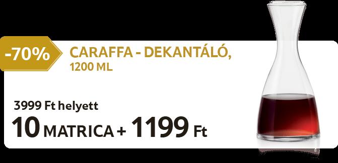 Caraffa - Dekantáló