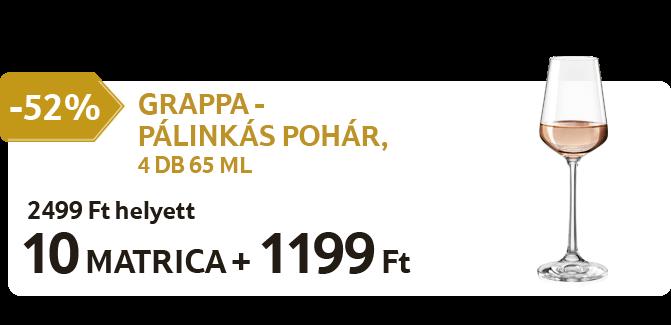 GRAPPA - Pálinkás pohár