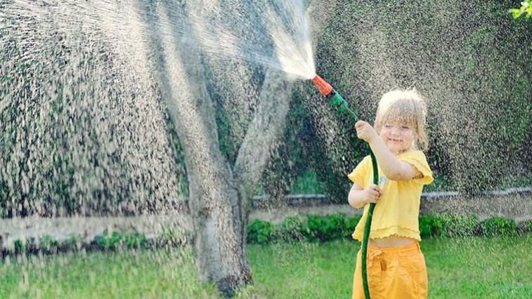 Kert a gyerekeknek: Teremtse meg a földi paradicsomot!