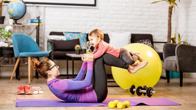 A szülés utáni fogyás titka a lassú folyamatban rejlik.