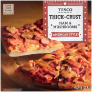 Tesco american style pizza