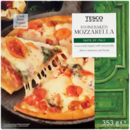 Tesco standard pizza