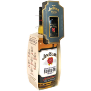 Jim Beam Bourbon whiskey + Jim Beam Black Bourbon mini whiskey