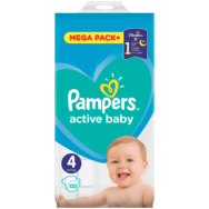 Pampers Active Baby Mega Pack pelenka