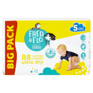 Fred & Flo Ultra Dry 5 Junior 11-18 kg pelenka 88 db