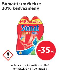 Somat termékekre 35% kedvezmény