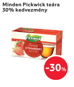 Minden Pickwick teára 30% kedvezmény