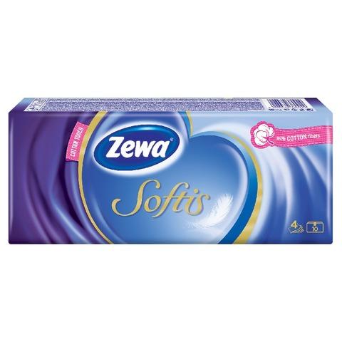Zewa Softis papír zsebkendő
