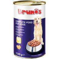 Brunos konzerv kutyaeledel