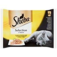 Sheba alutasakos macskaeledel (4 x 85 g/cs)