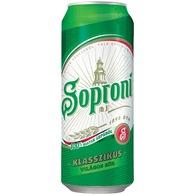 Soproni dobozos világos sör