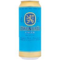 Löwenbräu dobozos világos sör