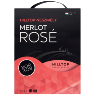 Hilltop Merlot vagy Merlot Rosé Bag-in Box