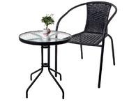 Balkon asztal vagy Rattan hatású kerti szék   Tesco