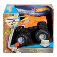 Hot Wheels Monster Jam Rev Tredz játékautó