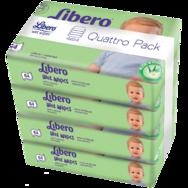 Libero nedves törlőkendő négyes kiszerelés f08230001a