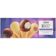 Tesco mini cone mix jégkrém