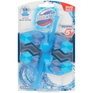 Domestos Power5+ Blue Water WC-frissítő blokk duopack