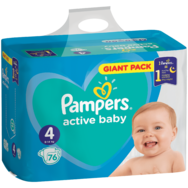 Pampers Active Baby Giant Pack pelenka