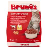 Brunos teljes értékű száraz állateledel felnőtt macskák számára marhával és  baromfival 1 kg ae15e59cad