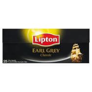 Lipton Earl Grey fekete tea 25 filter
