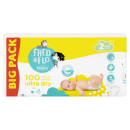 Tesco Fred & Flo Ultra Dry 2 Mini 3-6 kg pelenka 100 db