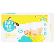 Tesco Fred & Flo Ultra Dry 2 Mini 3-6 kg pelenka 60 db