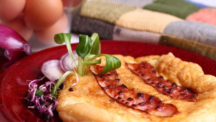 Bacon omlett